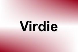 Virdie name image