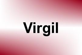 Virgil name image