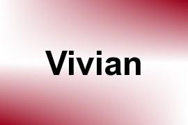 Vivian name image