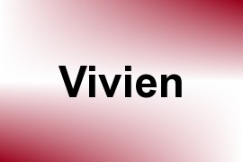 Vivien name image