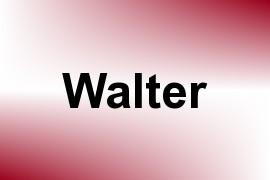 Walter name image