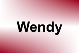 Wendy name image