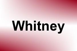 Whitney name image