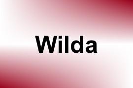 Wilda name image