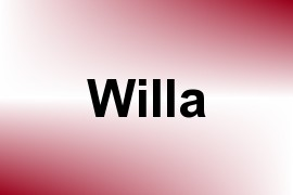 Willa name image