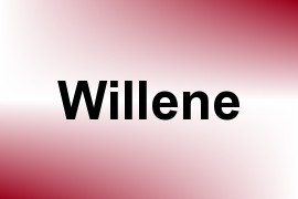 Willene name image
