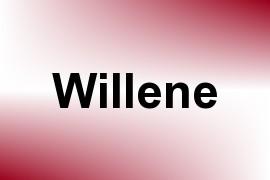 Willene name image
