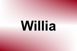 Willia name image