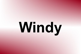 Windy name image