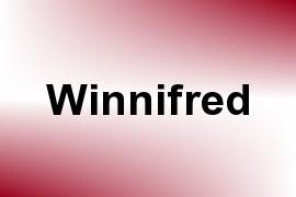 Winnifred name image
