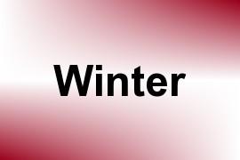 Winter name image