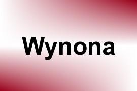 Wynona name image
