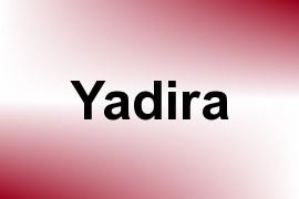 Yadira name image