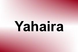 Yahaira name image