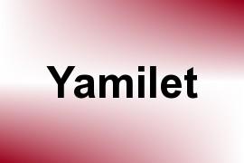 Yamilet name image