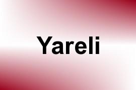 Yareli name image