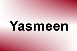 Yasmeen name image
