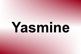 Yasmine name image