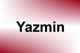 Yazmin name image