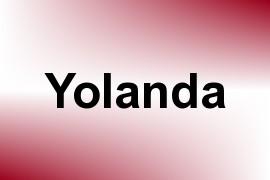 Yolanda name image