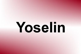 Yoselin name image