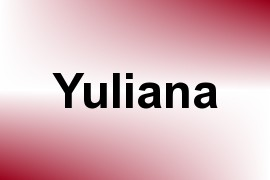Yuliana name image
