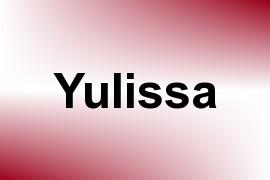 Yulissa name image