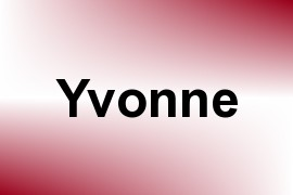 Yvonne name image