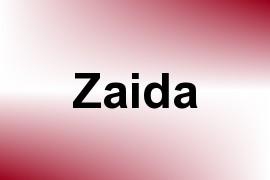 Zaida name image