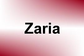 Zaria name image