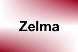Zelma name image