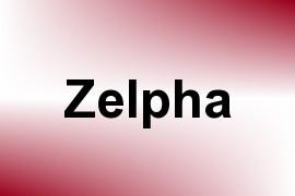 Zelpha name image