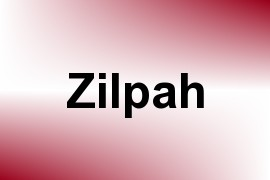 Zilpah name image