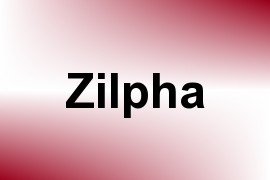 Zilpha name image
