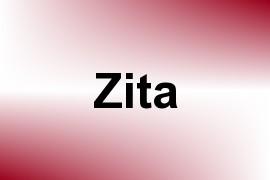Zita name image