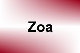 Zoa name image