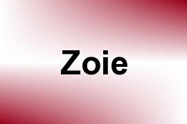 Zoie name image