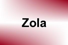 Zola name image