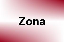 Zona name image