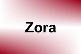 Zora name image