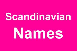 Scandinavian girl names